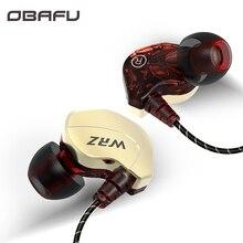 Dans loreille HiFi écouteur pour téléphone 3.5MM stéréo dans loreille filaire sport casque avec micro fort Film pilote écouteurs pour iPhone Samsung