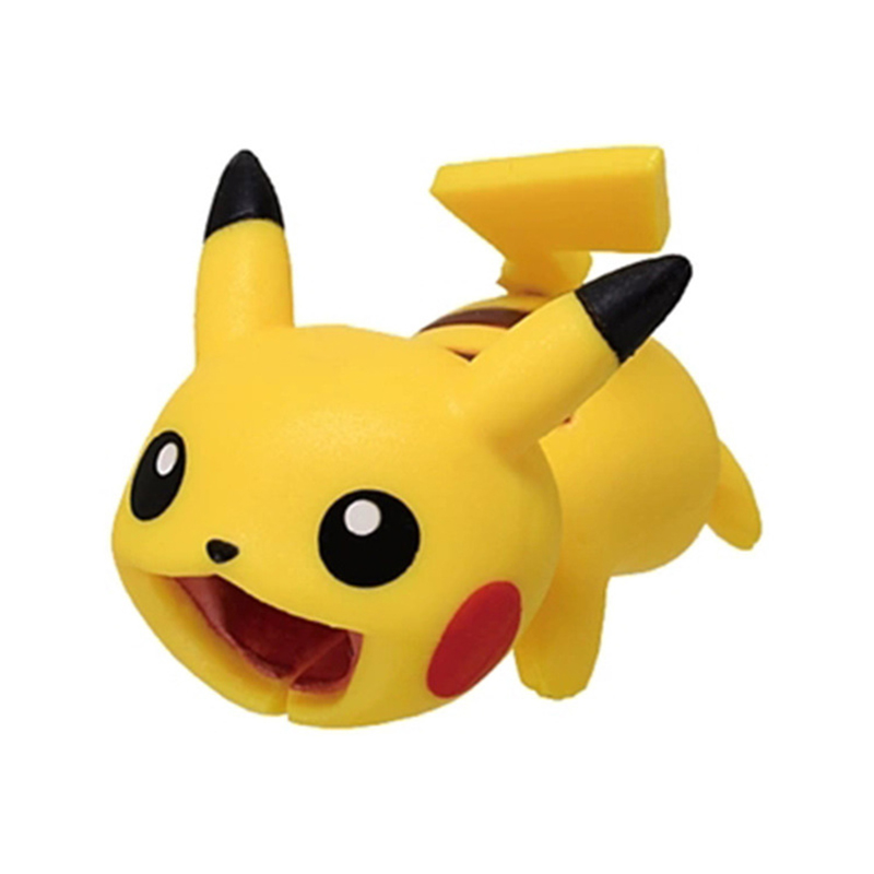 Cute Pokemon Go Cable Protector USB Charging Cable Take A Bite Pikachu Cable Chompers 5