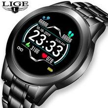 Новинка 2020, цифровые часы из нержавеющей стали, мужские спортивные часы, электронные светодиодные Мужские наручные часы для мужчин, водонеп...