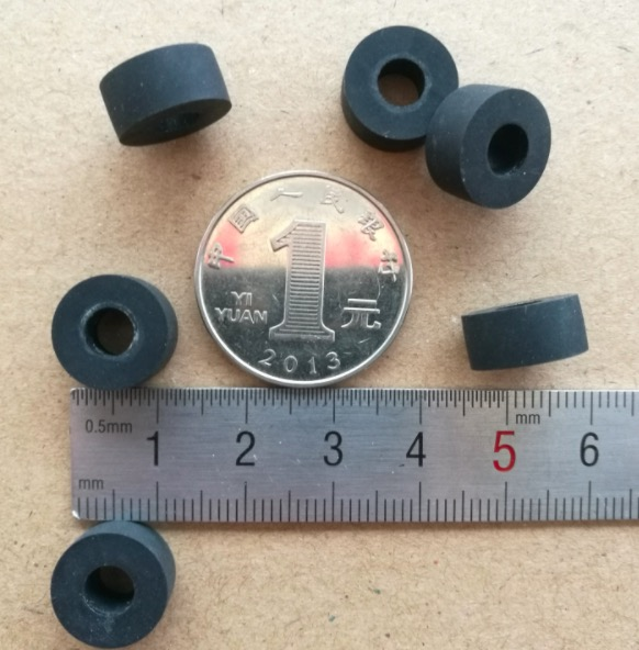6pcs 5.5x13x6mm rubber ring shock absorption loop for audio cassette deck recorder tape player