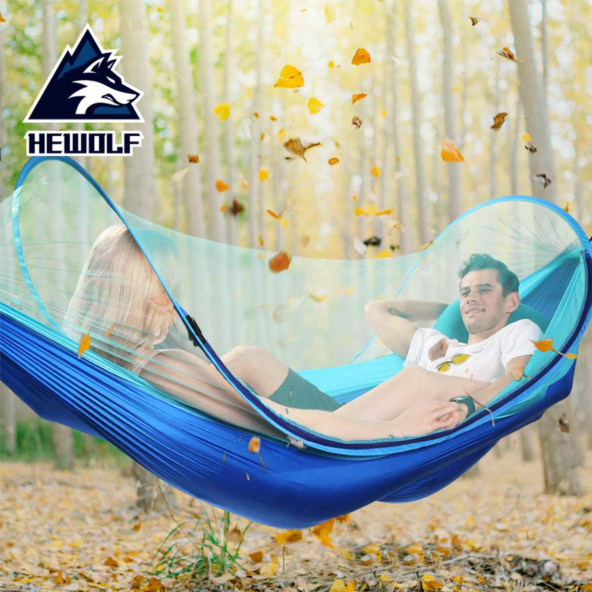 Portable Hammock Outdoor Hammock Garden Sports Home Travel Camping Swing Canvas Stripe Hang Bed Hammock 260x150cm 6 Color