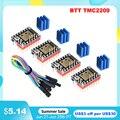 BIGTREETECH TMC2209 V1.2 Stepper Motor Driver TMC2208 UART 3D Printer Parts TMC2130 For BTT SKR V1.4 SKR Mini E3 SKR 2 Ender3 V2