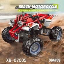 Технический Пляж мотоцикл moc строительный блок atv модель автомобиля
