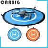 PGYTECH 55CM rápido-fold de aterrizaje helipuerto para DJI Mavic Air2 aire 2 Mini 2 Mavic 2 Phantom 3 4 chispa F11 SG906 Pro