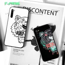 kenzoe tiger luxury designer case coque fundas etui for xiaomi note max mi 3 7 8 9se Redmi 7 7a 8 8t 10 pro lite cases cover(China)