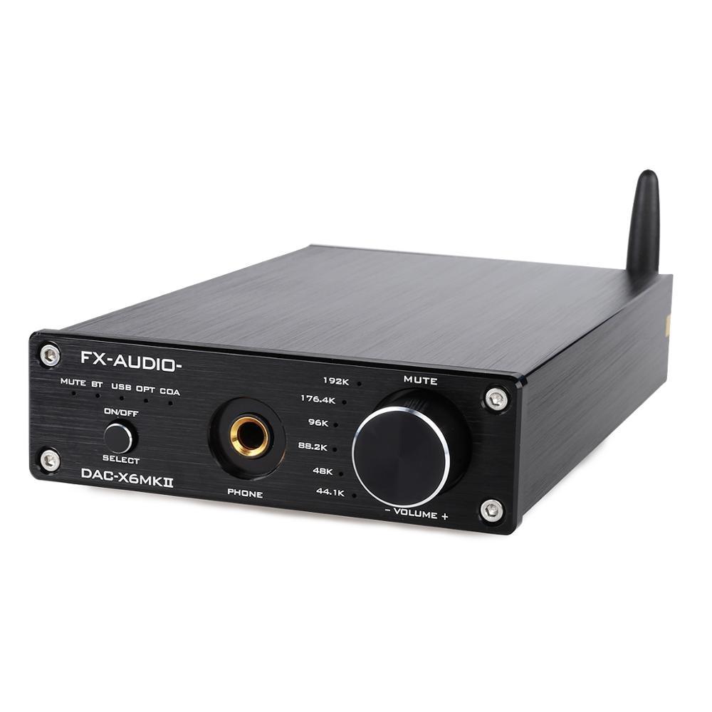 FX Audio DAC X6 MKII ESS9018 TPA6120 Chip Bluetooth 5.0 APTX SPDIF Coaxial PC USB RCA Amplifier USB DAC Decoder|Headphone Amplifier|   - AliExpress