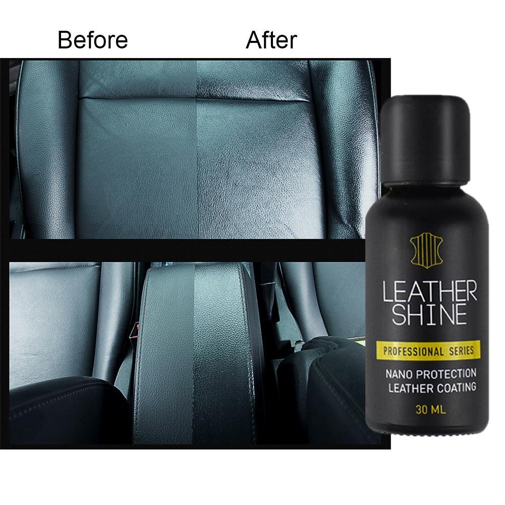 assento vitrificação hidratante proteção protetora líquido plástico couro manutenção