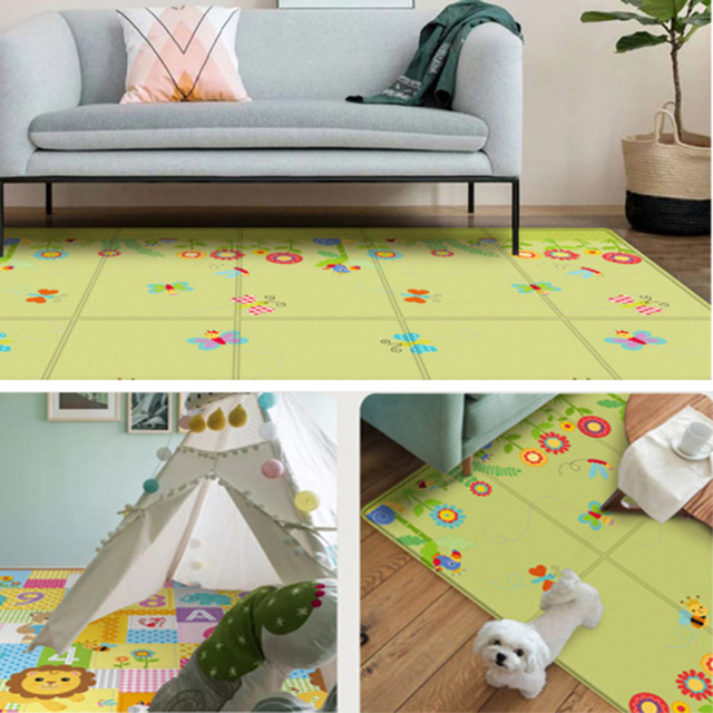 Waterproof Baby Mat  Thick Crawling Mat XPE Outdoor Indoor Folding Pad Home Folding Kids Rug Toys for Children's Carpet