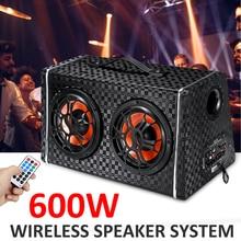 6 inch DC 12V/24V Wireless bluetooth Car Stereo Amplifier Subwoofer Spe