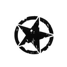 15*15cm 1Pc Car Stickers Army Star Pattern Emblem Decals Decoration Motorcycle Body Window Stickers Vinyl Car-styling стоимость