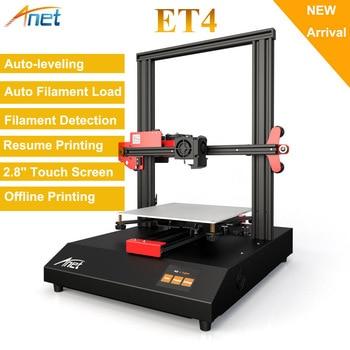 Anet ET4 & ET4 Pro 3D Printer High Precision All Metal Frame FDM Kit DIY Easy Assembly Desktop Auto 3D Printe with 10m Filament tronxy 3d printer kit printing plus size 330 330 400mm metal frame structure high precision 3d printer diy kit dual z lead screw