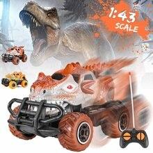 1:43 RC Car Dinosaur Toys Mini Dinosaur High Speed Remote Co