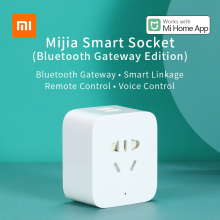 Xiaomi Mijia Smart Socket Bluetooth Gateway Version 2 way USB Power output Plug timing APP Remote Control Work with Mi home APP