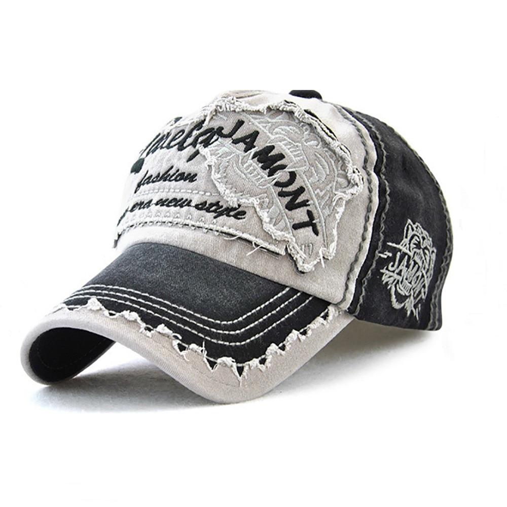 Women Embroidered Flower Denim Cap Fashion Baseball Cap Topee Casual Hats Summer Letter Mesh Caps Peak Caps Gorros#T2 3