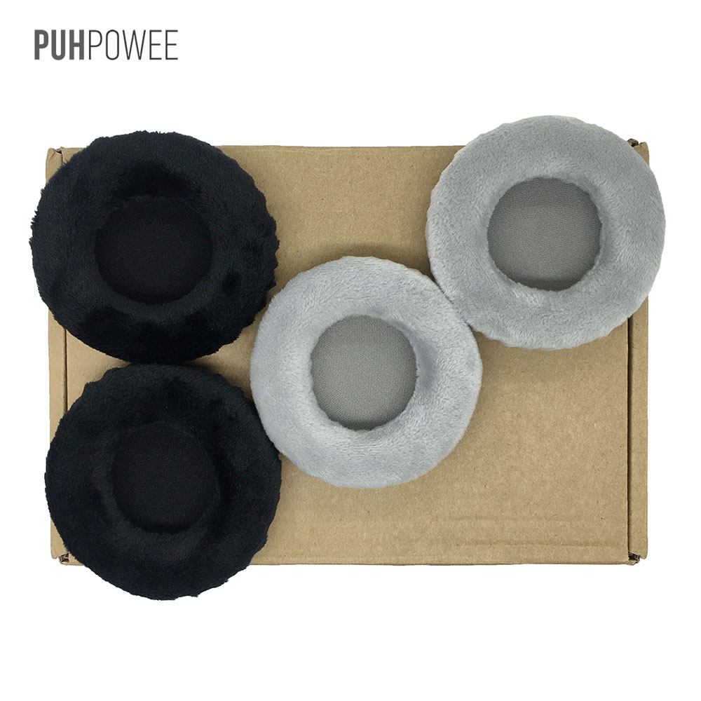 PUHPOWEE Replacement Earpads for Superlux <font><b>HD668B</b></font> HD681 HD681B HD662 Headphones Cushion Cover Pillow Headset image