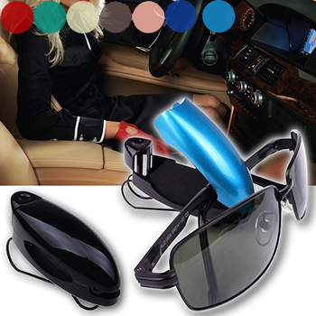 Auto Car Vehicle Sun Visor Glasses Clip Holder for Sunglasses Eyeglasses Ticket Receipt Card Car Accessories Auto Supllies Nice image