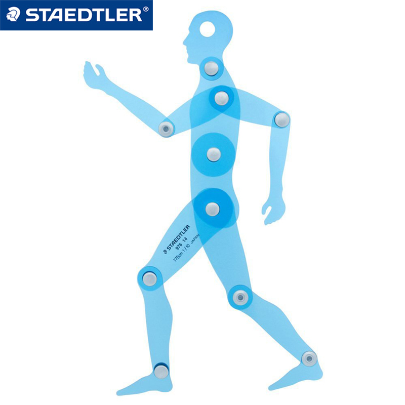 Staedtler 976 14 Two dimensional Human Model Template