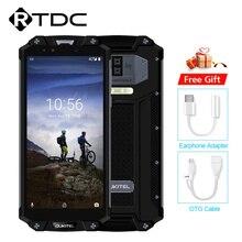 هاتف محمول OUKITEL WP2 IP68 مقاوم للصدمات والغبار 4GB 64GB MT6750T ثماني النواة 6.0 18:9 10000mAh بصمة NFC الهاتف الذكي