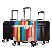 Trolley Luggage Suitcase-Cabin Wheels Spinner Business Travel Carry-On Oxford Waterproof
