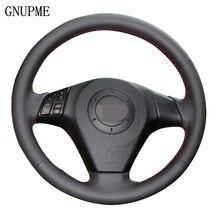 Diy Kunstleer Steering Cover Zwarte Auto Stuurhoes Voor Oude Mazda 3 Mazda 5 Mazda 6 Pentium B70