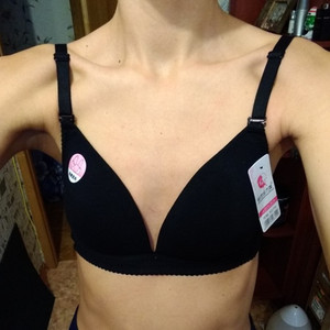 Image 3 - حمالة صدر قطنية ناعمة ورقيقة خالية من الصلب ، حمالة صدر جذابة ، حمالة صدر صغيرة للسيدات
