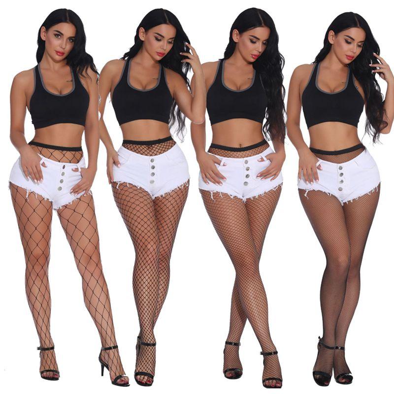Для женщин пикантные черные сапоги полые чулки в сетку с сетчатыми вставками, колготки носки дамские колготки чулки