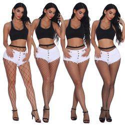 Women Sexy Black Hollow Fishnet Stockings Net Mesh Tights Socks Lady Pantyhose Stockings