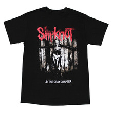 Slipknot Heavy Metal Band Graphic The Gray Chapter Men T-Shirt Lowest Price 100 % Cotton T Shirt Short Sleeve Top Tee