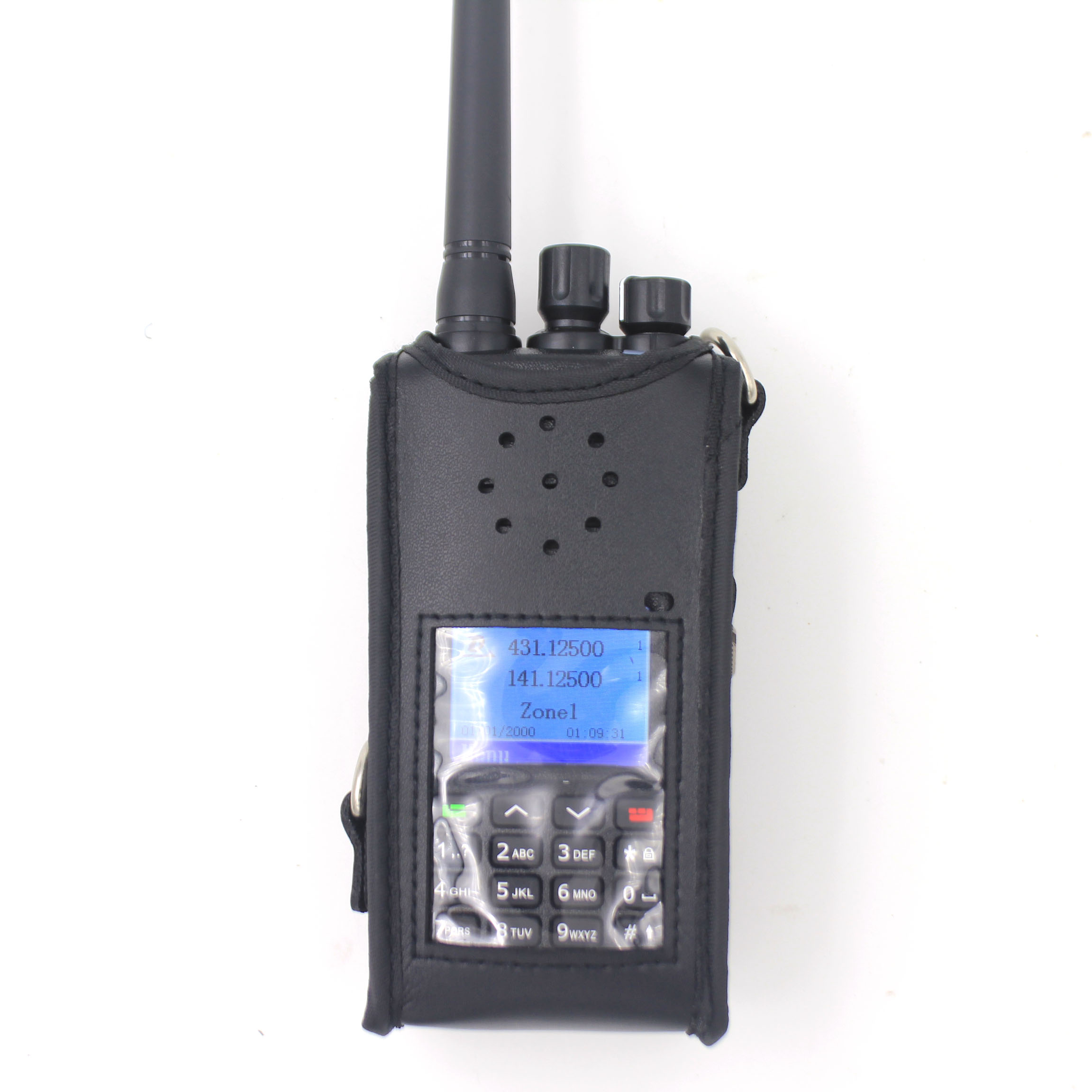 Portable Radio Case For TYT MD-UV380 MD-UV390 Baofeng UV-9R Plus BF-A58 BF-9700 GT-3WP PVC Protect Bag For UV-5S Walkie Talkies