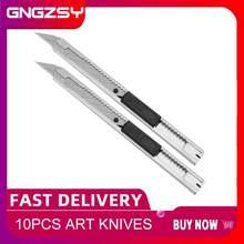 Cngzsy 10 шт художественный нож для офиса школы канцелярские
