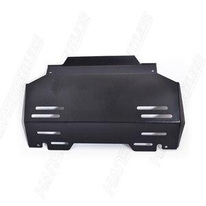 Image 5 - Hanssentne 4X4 akcesoria 3.5mm osłona przednia ochrona silnika płyta ślizgowa dla Hilux Revo/ROCCO 2015