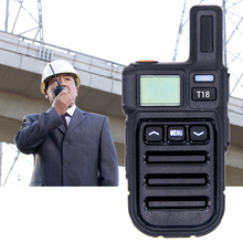SOONHUA Mini Walkie Talkie PMR Walkie Talkies Hands-Free Two Way Radio With Vibration Wireless Cloning And Charging Cable