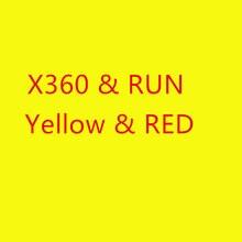 Für xbox360 x360 xbox 360 run 30 stücke von gelb v 1,0 und 15 stücke von rot 1,1