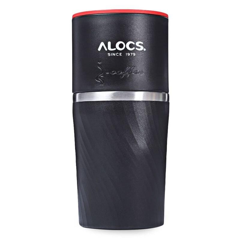 Alocs CW-K16 4 In 1 Camping Travel Coffee Cup Grinding Machine Brewed Coffee Bean Grinder Mug