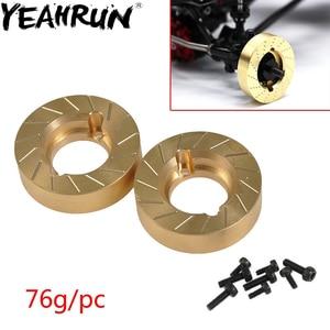 Image 1 - YEAHRUN contrapeso de cobre para Axial SCX10 II 90046 90047 1/10