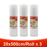 3 rolls 20x500cm-TINTON LIFE vacuum bags for food Fresh Long Keeping 12+15+20+25+28cm*500cm Rolls/Lot bags
