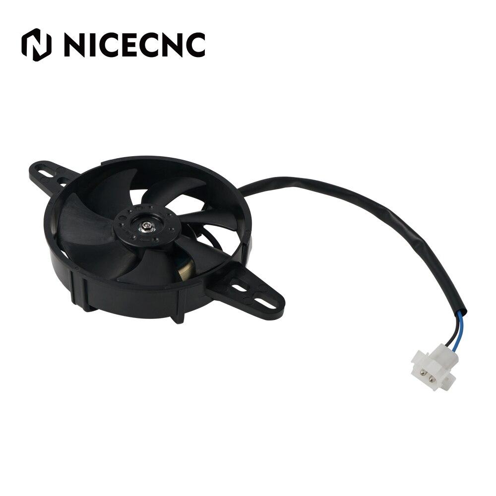 NICECNC Cooling Fan Cooler 12V Electric Radiator Thermal For Husqvarna TC FC TE FE TX FX 200 250 300 350 400 450 Enduro 701