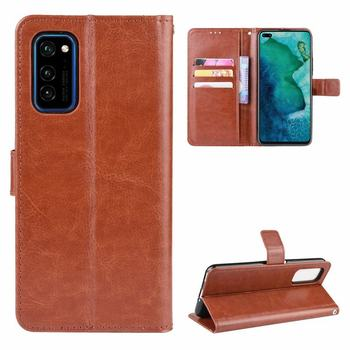 Case For Huawei Honor View 30 Pro Flip Cover Case Luxury Magnet Closure Stand Wallet Leather Phone Bag On Honor View30 Pro Coque