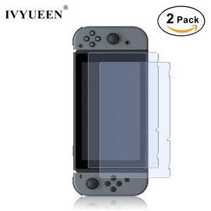 Image 1 - IVYUEEN Protector de pantalla de vidrio templado 9H Premium para Nintendo Switch NS, película protectora para Nintendo Switch, 2 uds.