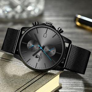 Image 4 - Männer Uhr CHEETAH Top Luxus Marke Uhren Herren Edelstahl Quarz Armbanduhr Chronograph Datum Männlich Uhr Relogio Masculino