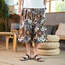 Iidossan Японская уличная одежда летние длинные брюки мужские