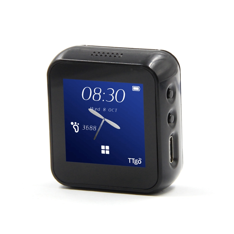 T-Watch Programmable And Networked Open Source Smart Watch That Interacts With The Environment As A Wearable Device