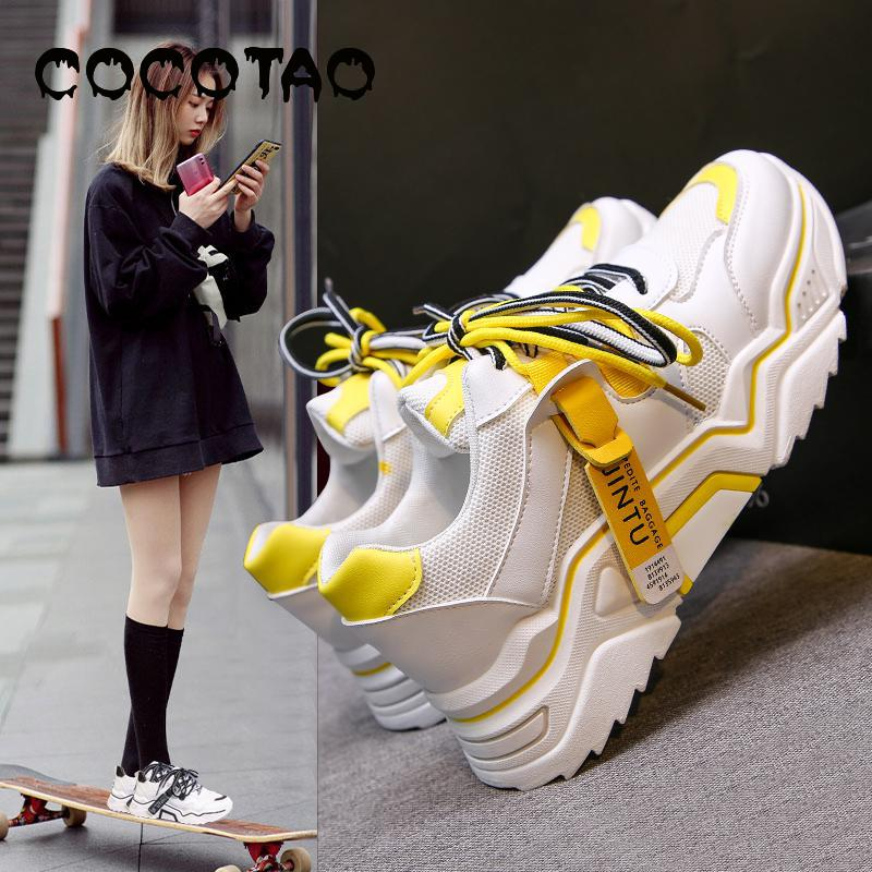 Torre Shoes Female Ins Summer Air 2019 New Tide Super Fire Han Edition Ulzzang Students Leisure Sports Shoes In The Autumn