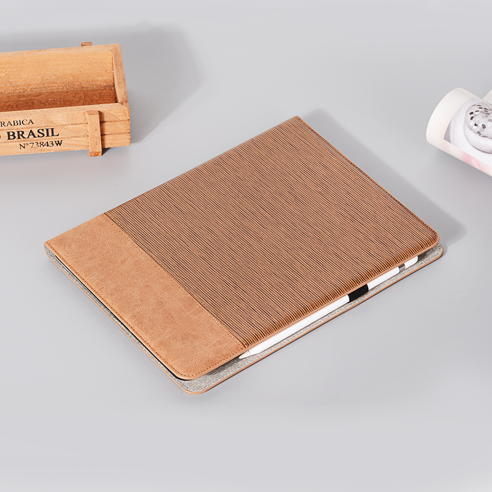Tablet Brown Case Cover 2020 9 Series Business Pro iPad 2020 For PU For 12 Pro Back iPad