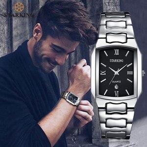 Image 4 - STARKING montre à Quartz en acier inoxydable pour hommes, marque célèbre, tendance, modèle 2020, BM0605