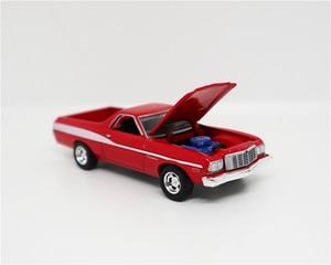 Image 3 - Greenlight 1:64 Ford Ranchero Red/White No Box