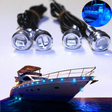12v Waterproof LED Boat Light Dinghy Fish SKI Wakeboard Pimp Lights Bowrider Deck Landau Sylvan Wellcraft Harbor Cruiser artwox us cl 89 cruiser wooden deck aw20086 pitrod w23