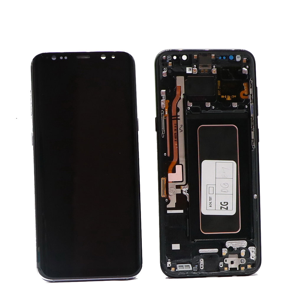 Original SUPER AMOLED Display <font><b>For</b></font> <font><b>SAMSUNG</b></font> <font><b>Galaxy</b></font> NOTE8 LCD N950 <font><b>N950F</b></font> Display Touch <font><b>Screen</b></font> Replacement Parts With black spots image