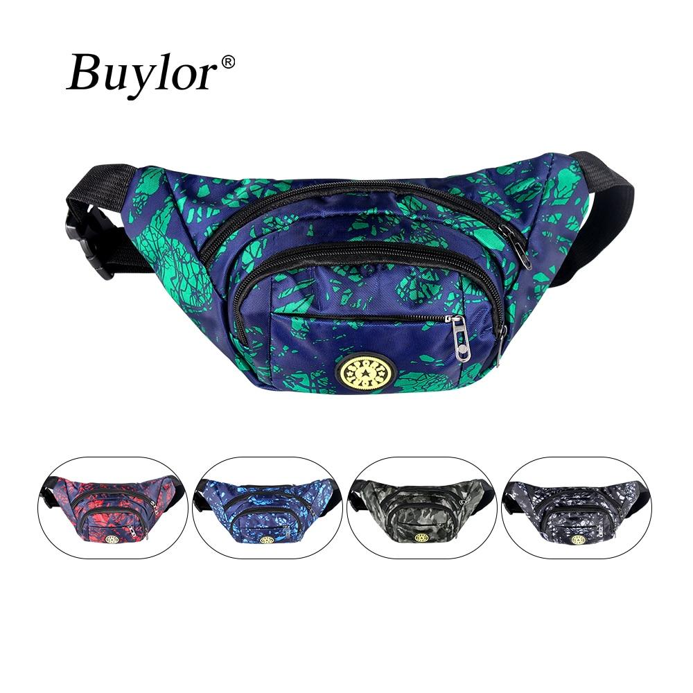 Buylor Fanny Pack Men Belt Bag Banana Waist Packs Waterproof Chest Bum Bag Women Zipper Wallet Pouch Travel Bicycle Hiking
