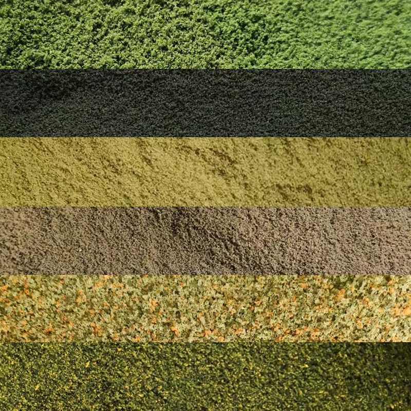 50g*6 Colors Fine Turf Assortment